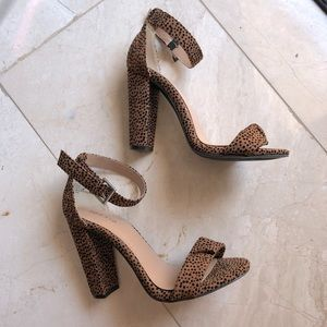 TORRID Leopard print heels